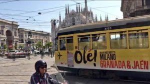 promocion de Granada en Milan