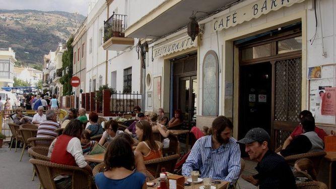 restaurante Baraka Orgiva