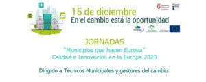 Jornadas Municipios Europa